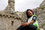 Yuni at Weobley Castle
