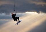 Windsurfing at Troon Scotland - June '08