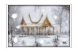 Snow Storm at the Thai Pavilion