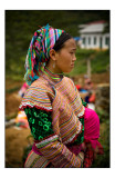 The Flower Hmong people beauties 3
