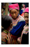 Bac Ha market people