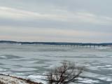 Mile long bridge, Lake Red Rock