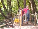 Bridge crew caught in the act