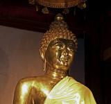 Buddha image, Wat Jed Yod, close up
