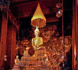 Buddha image in the ordination hall (ubosot)
