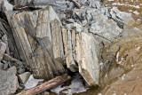 Rocks along St. Jean Baptiste Creek