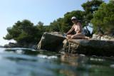 Ile Sainte Marguerite - Photos d'une plongée le long des criques de l'île