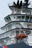 Douarnenez 2006 - Le 28 juillet - Le remorqueur de haute mer Abeille Bourbon photo 42