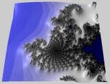 Mandelbrot seahorse 3D