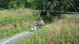 Guy W under bridge