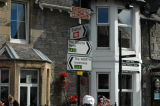 Signpost in Pitlochry