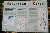 Clava Cairns sign