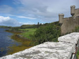 View from Dunvegan Castle courtyard