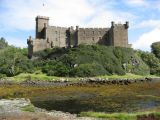 Rear view of Dunvegan Castle