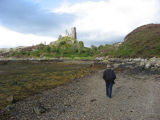 Crossing the inlet to Castle Moil