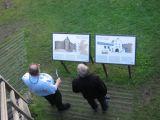 Reading about Dunstaffnage Castle