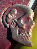 Alex Grey Sculpture on the Man close up