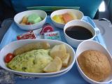 Breakfast on SIA between Singapore and Brunei