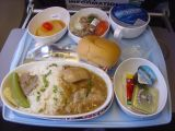 Lunch on Silk Air between Brunei and Singapore