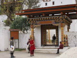 Outer entrance gate to Punakha Dzong
