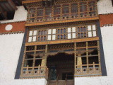 The inner entrance to the courtyard, Punakha Dzong