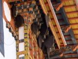 Wild bee hives, Punakha Dzong