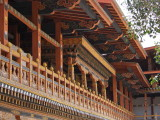 The administrative courtyard area, Punakha Dzong