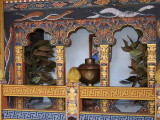 Shrine to the nagas (snake spirits), Punakha Dzong
