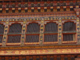 The religious courtyard area, Punakha Dzong