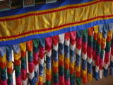 Detail of decoration in the temple, Punakha Dzong