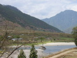The Mo Chhu valley, Punakha