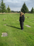 A Vist To The Grave Of My Son, April 2 07