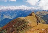 Ridge above Parbati valley