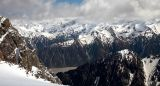 Helicopter ride to Mt. Cook