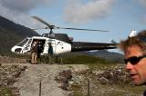 Helicopter-hike