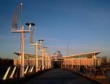 The Sacramento water intake facility