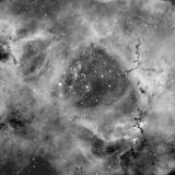 Center of the Rosette Nebula