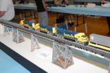 The Super C on the Aroyo Seco Bridge