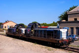 The BB66215 and 66298 at Miramas depot.