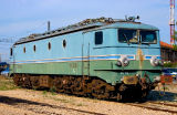 The famous and now retired and preserved CC7121 at Miramas depot.