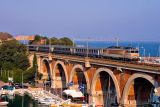 The BB22396 on the La Rague bridge, near Cannes.