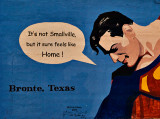 Superman lives in Texas!