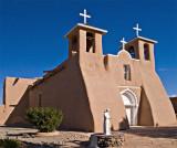 Rancho De Taos Church in bright sun