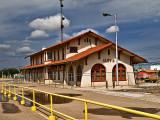 Clovis NM Train depot, Circa about 1900