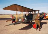 Doggie Kline & his WWI S.E.5a Biplane