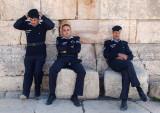 Guarding Jerash