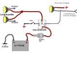 Driving/Fog Lamps Schematic Diagram - Longue Portee