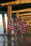 Jenny on the Beach