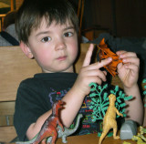 Charlie and dinosaurs - 1