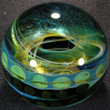 This is one of those marbles you can explore for hours with your flashlight or sunlight!